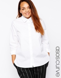 asos white top