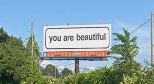 billboard you are beautiful