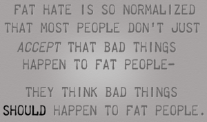fat discrimination
