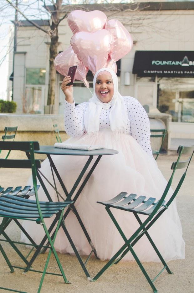Detroit-Plus-Size-Style-blogger-muslim-girl-Eid-style